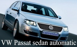 VW Passat sedan AT